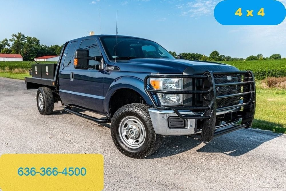 2017 Ford F250 Xl Used Flatbed 4wd Extended Cab Tool Bo Work Truck Inspected Ebay Link