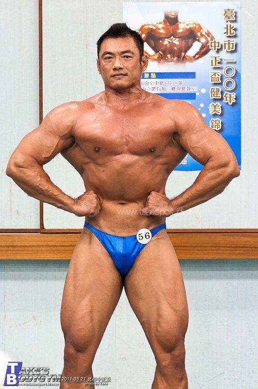 Chen Kong Wen (陳孔文, Taiwanese Bodybuilder)