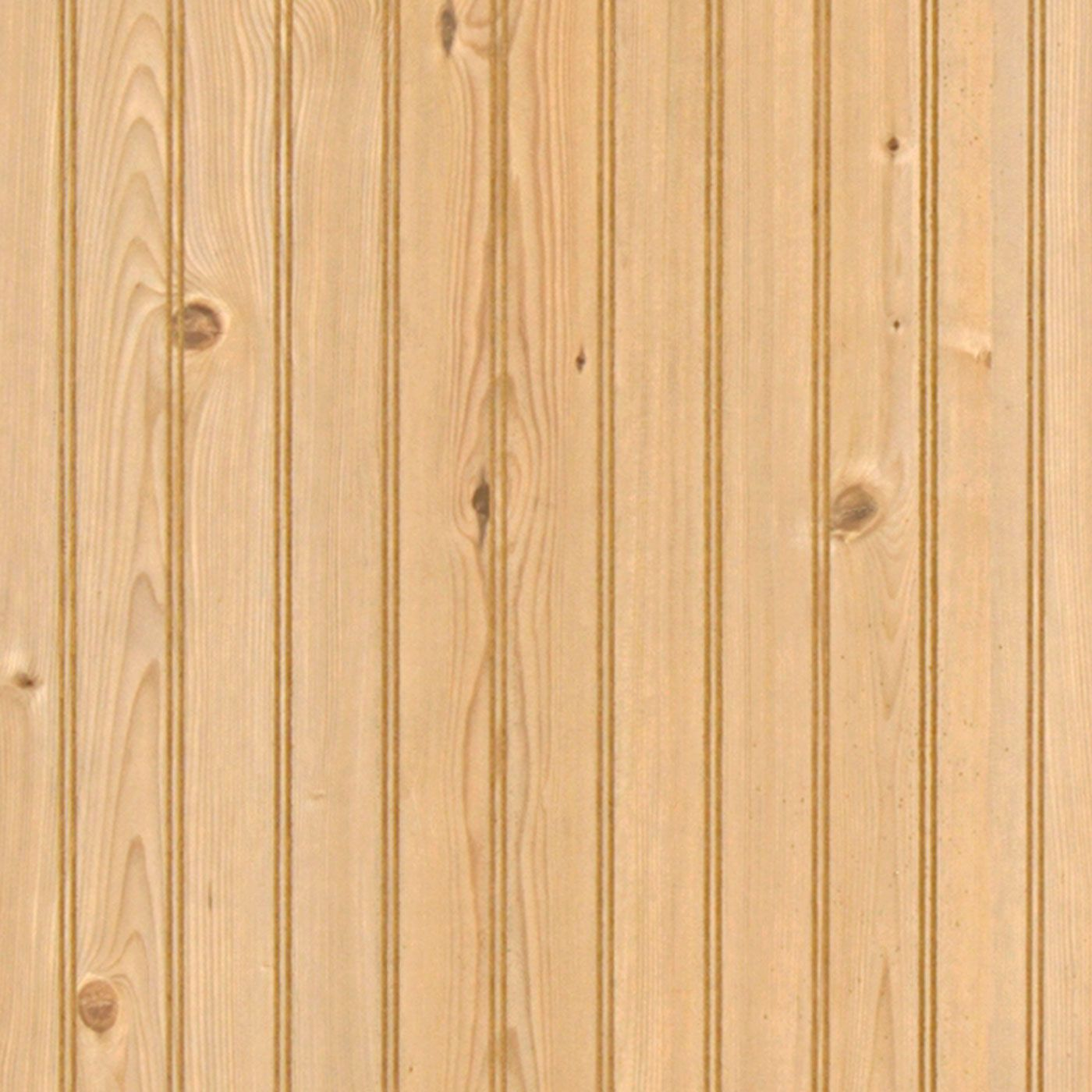 Rustic Pine 2 Inch Beadboard Paneling 4 x 8 | Pine, Wainscoting and ...