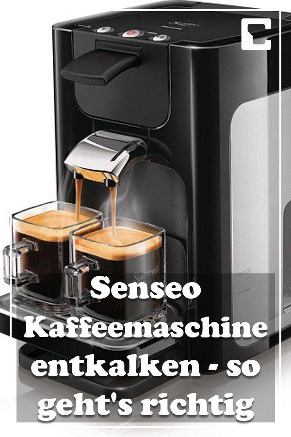 Senseo Kaffeemaschine entkalken so geht's