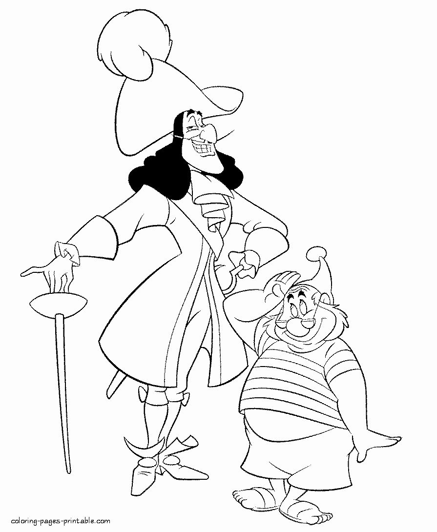 Disney Villains Coloring Book Awesome Captain Hook Coloring Page Coloring Home In 2020 Pirate Coloring Pages Peter Pan Coloring Pages Disney Coloring Pages