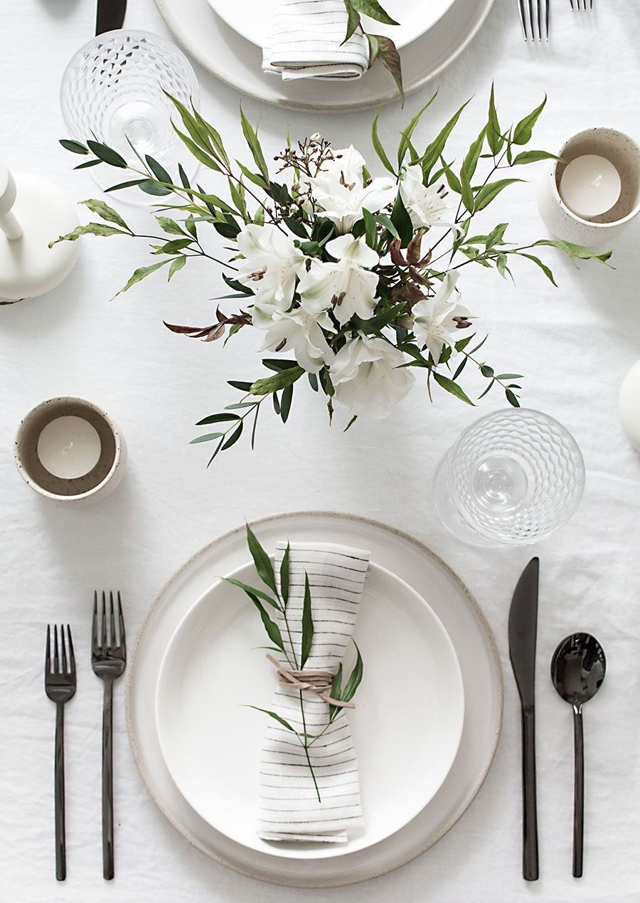 Wedding stuff · Dining Table SettingsTable ... & Pin by Shell K. on T a b l e s c a p e s | Pinterest | Pinterest ...