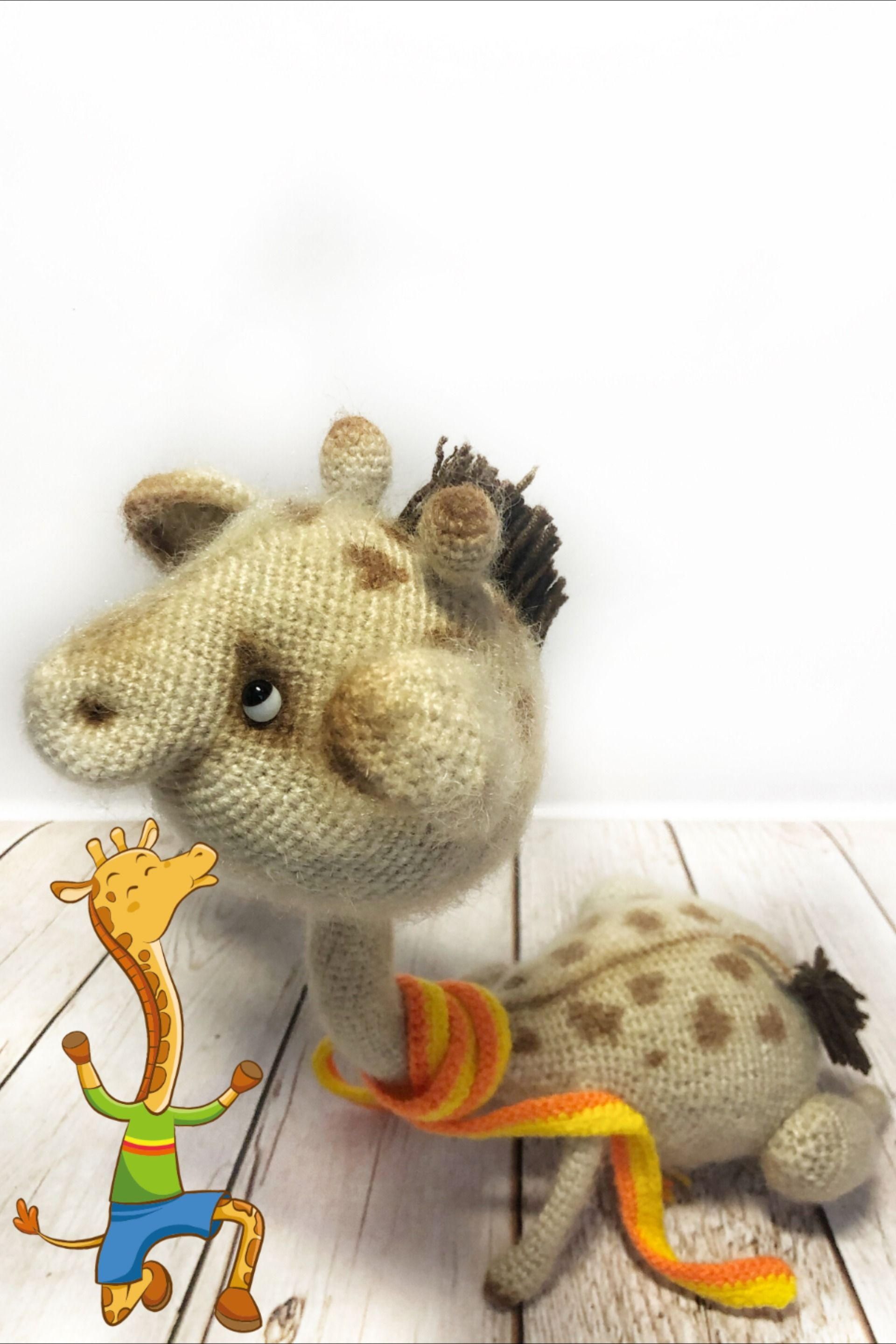 Crochet Toy Amigurumi Giraffe Handmade Home Decor Animal Jungle Stuffed Toy Mohair Giraffe Gift For Friends Unique Toy Christmas With Images Unique Toys Crochet Toys Giraffe Toy