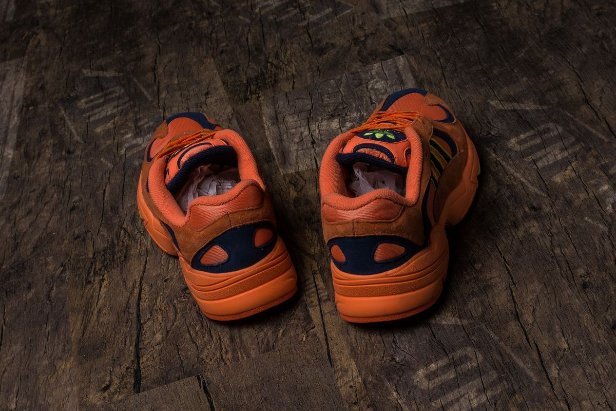 official photos e6efa 83817 Dragon Ball Z x Adidas Yung-1 GoKong Orange Boost18
