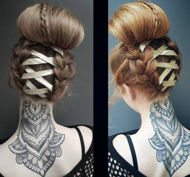 Quirky Wedding Hairstyle: On Offbeat Bride, We've Been Loving On Corset Wedding