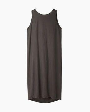 Black Crane  Gather Back Dress