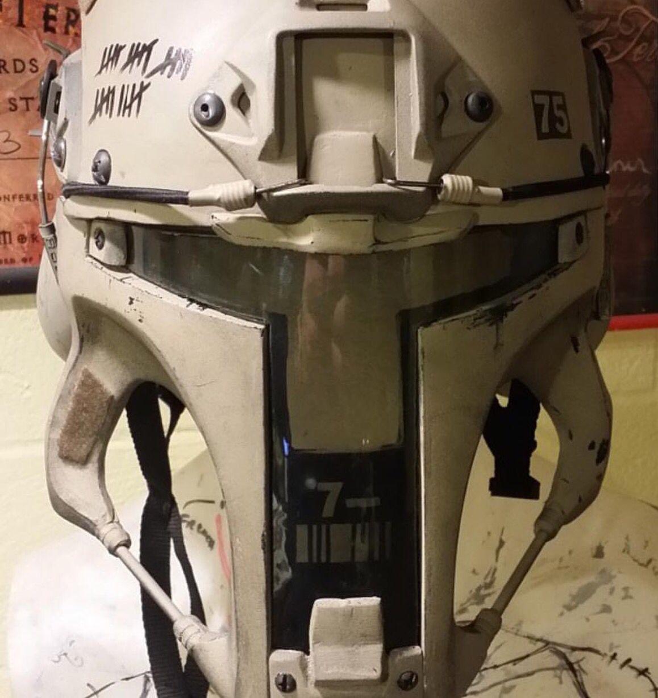 Tactical Boba Fett helmet | Tactical gear & tactics | Pinterest ...