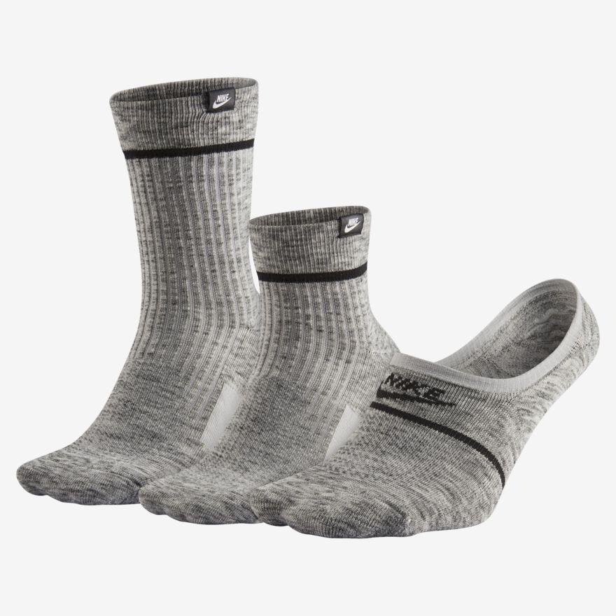Nike Sneaker Socks Gift Box Set (3