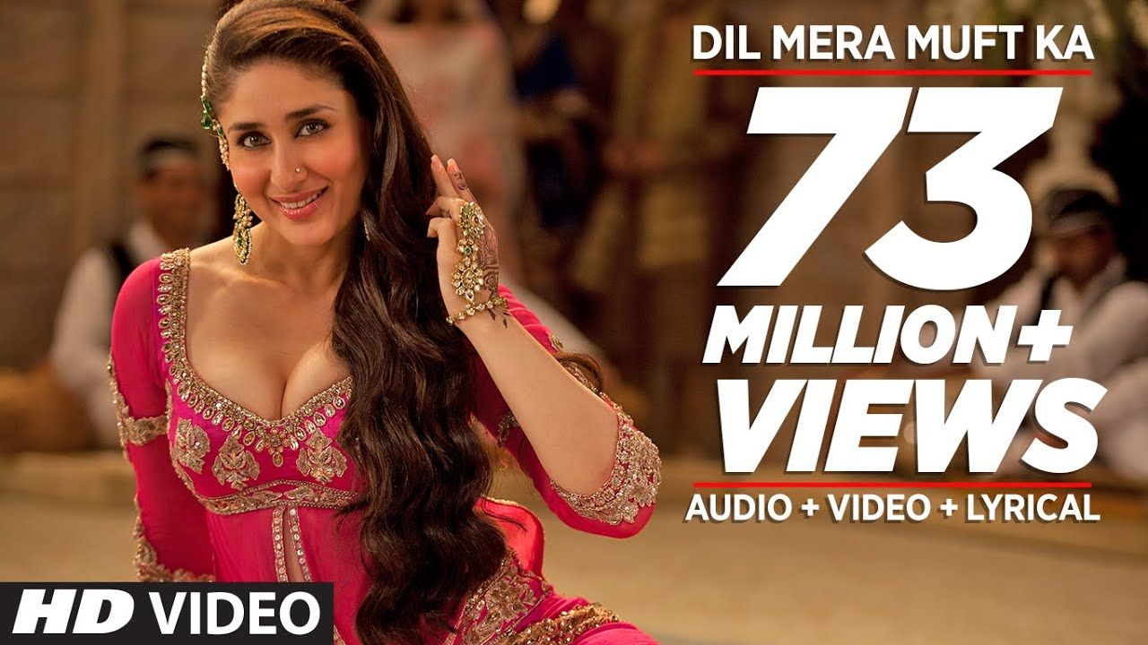 Agentvinod Dil Mera Muft Ka Kareenakapoor Nandinishrikar T Series Hindi Video Songs Hindisongs Songlyric Kareena Kapoor Bollywood Songs Mera