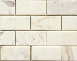 The Builder Depot 12 95sf Calacatta Gold 3x6 Marble Subway Tile Norcross