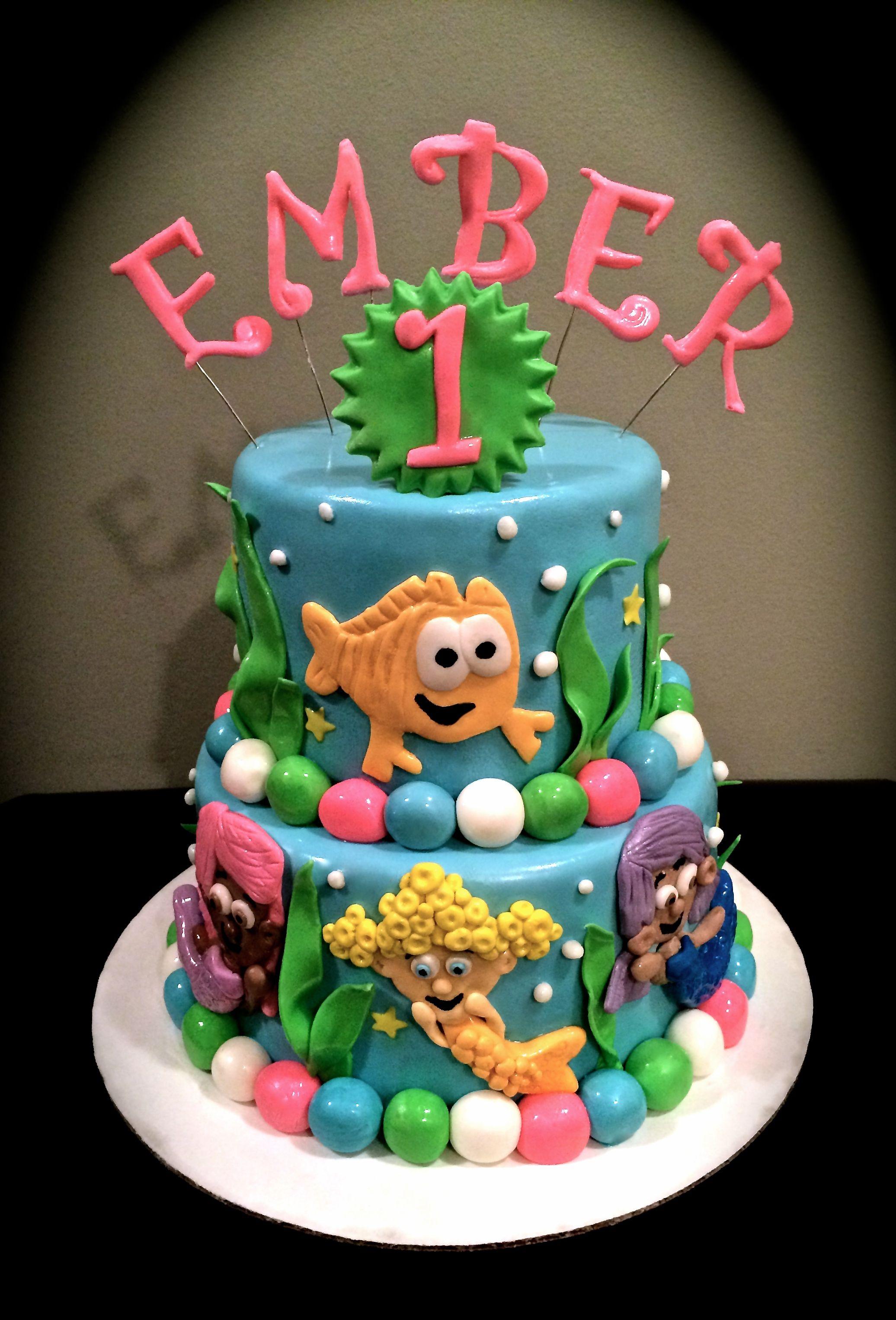 Sweety Cakes - Bubble Guppies Cake! www.sweetycakes.ca