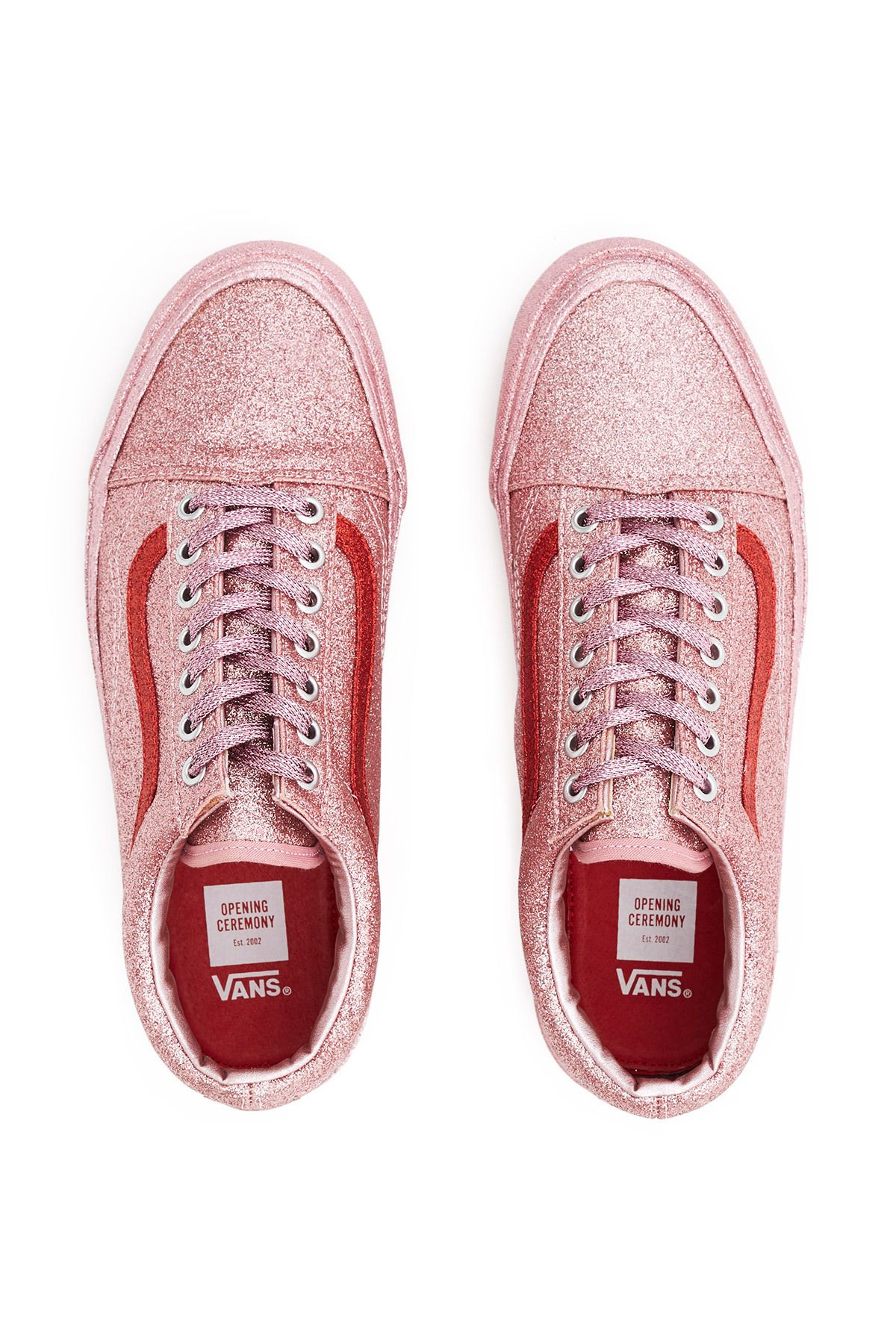 Vans for Opening Ceremony, Glitter OG Old Skool LX Sneakers
