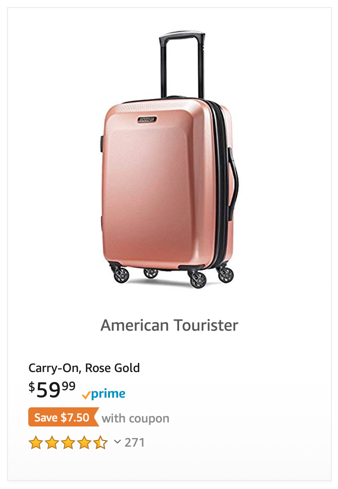 07b74d70fff5 American Tourister Moonlight Expandable Hardside Luggage with ...