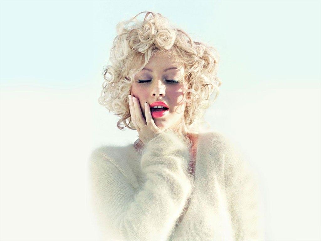 Christina Aguilera As Marilyn Monroe Female Hotness