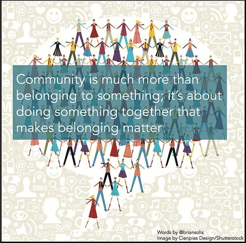 Communities Take Intention and Engagement