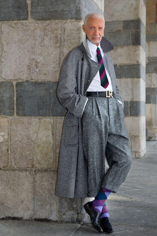 Lorenzo Riva italian fashion designer, so elegant Moda