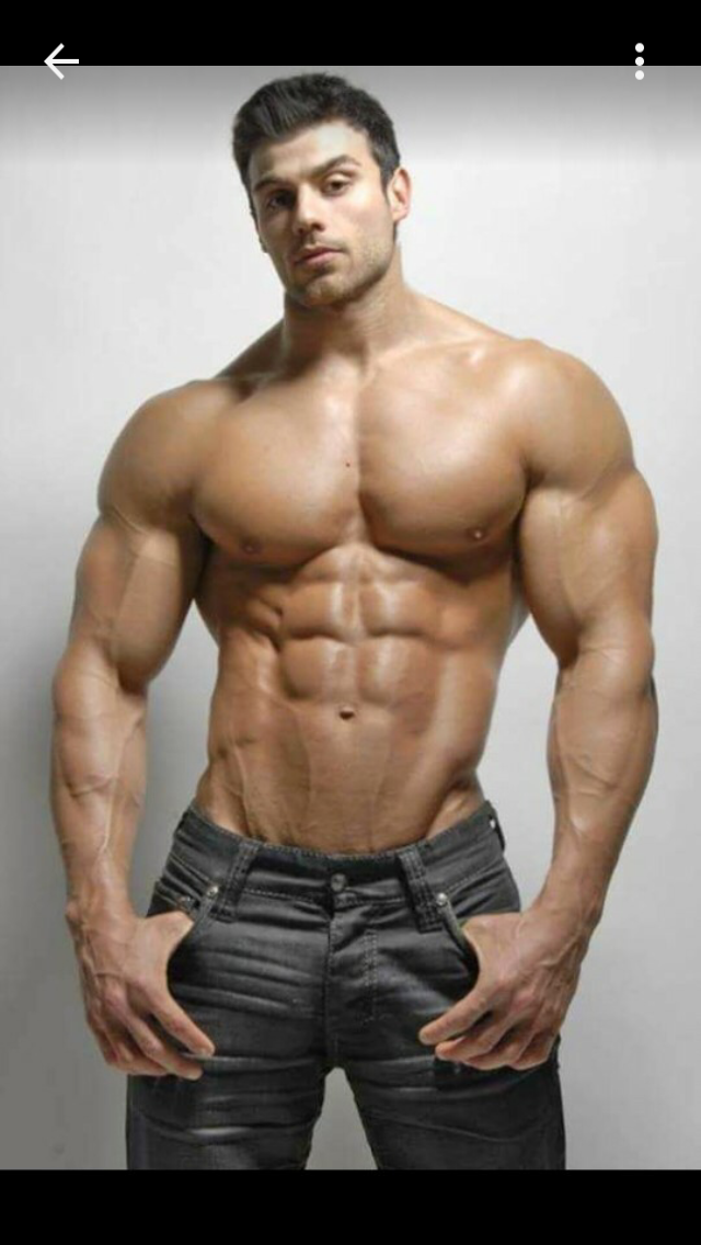 Muscle lover jacked bodybuilders beau warner