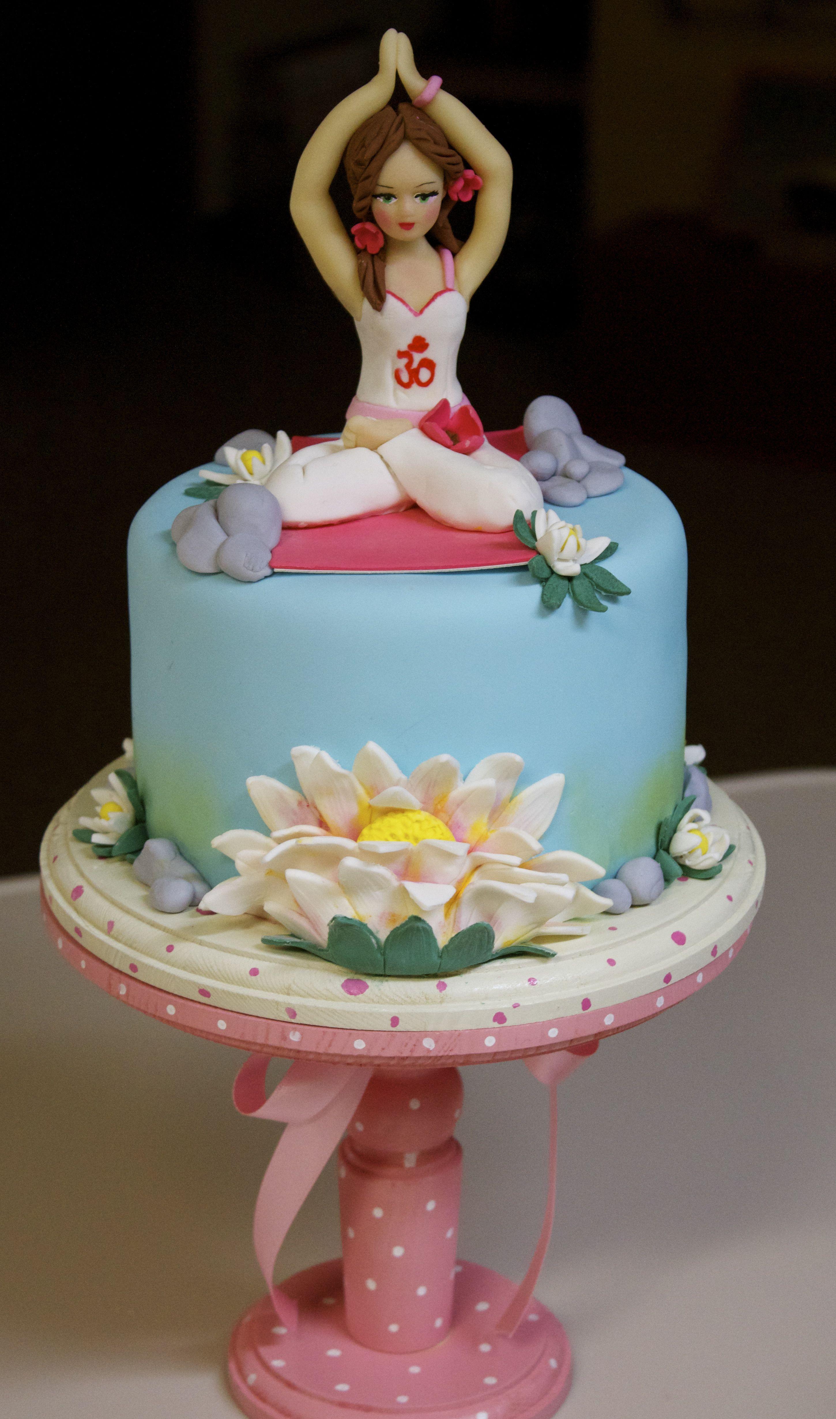 Namaste Cakes with Figures Pinterest Namaste Cake and Cake