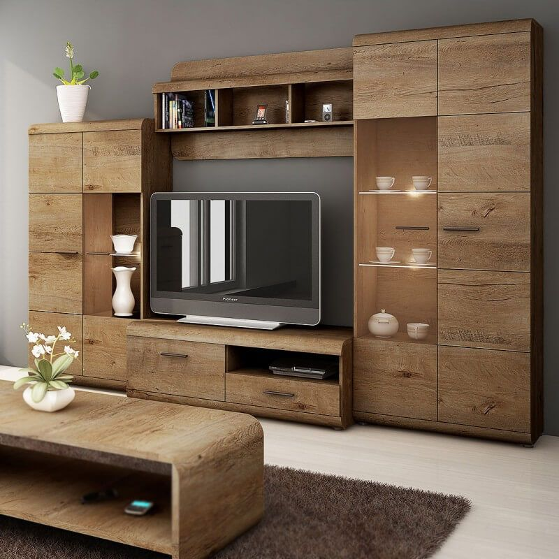 30 Cool And Creative Wall TV Ideas To Beautify Your Room ...