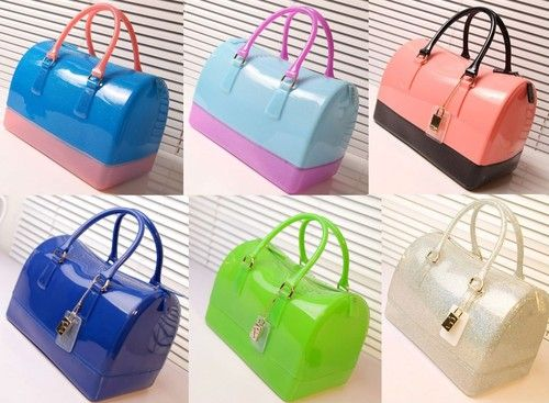 Jelly Candy Bag Satchel