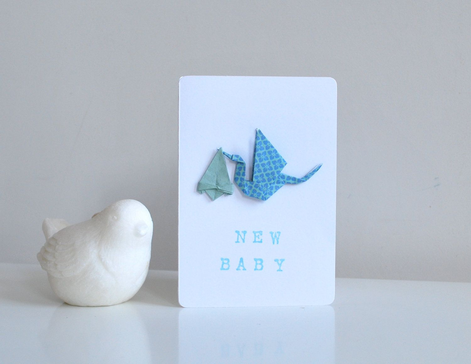 Origami Baby Card Cards Papercrafts In 2018 Pinterest Baby