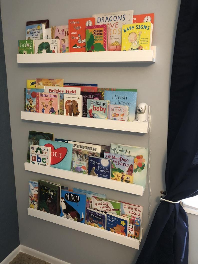 Floating Shelves Childrens Bookshelves Dorm Room Shelving Etsy