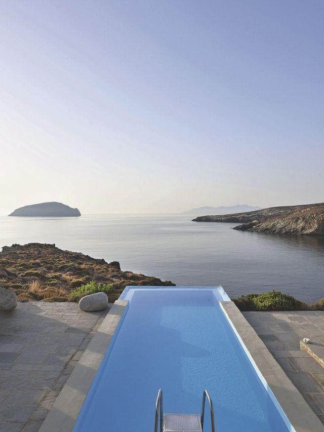 Visite Déco Du0027une Maison Du0027architecte En Grèce