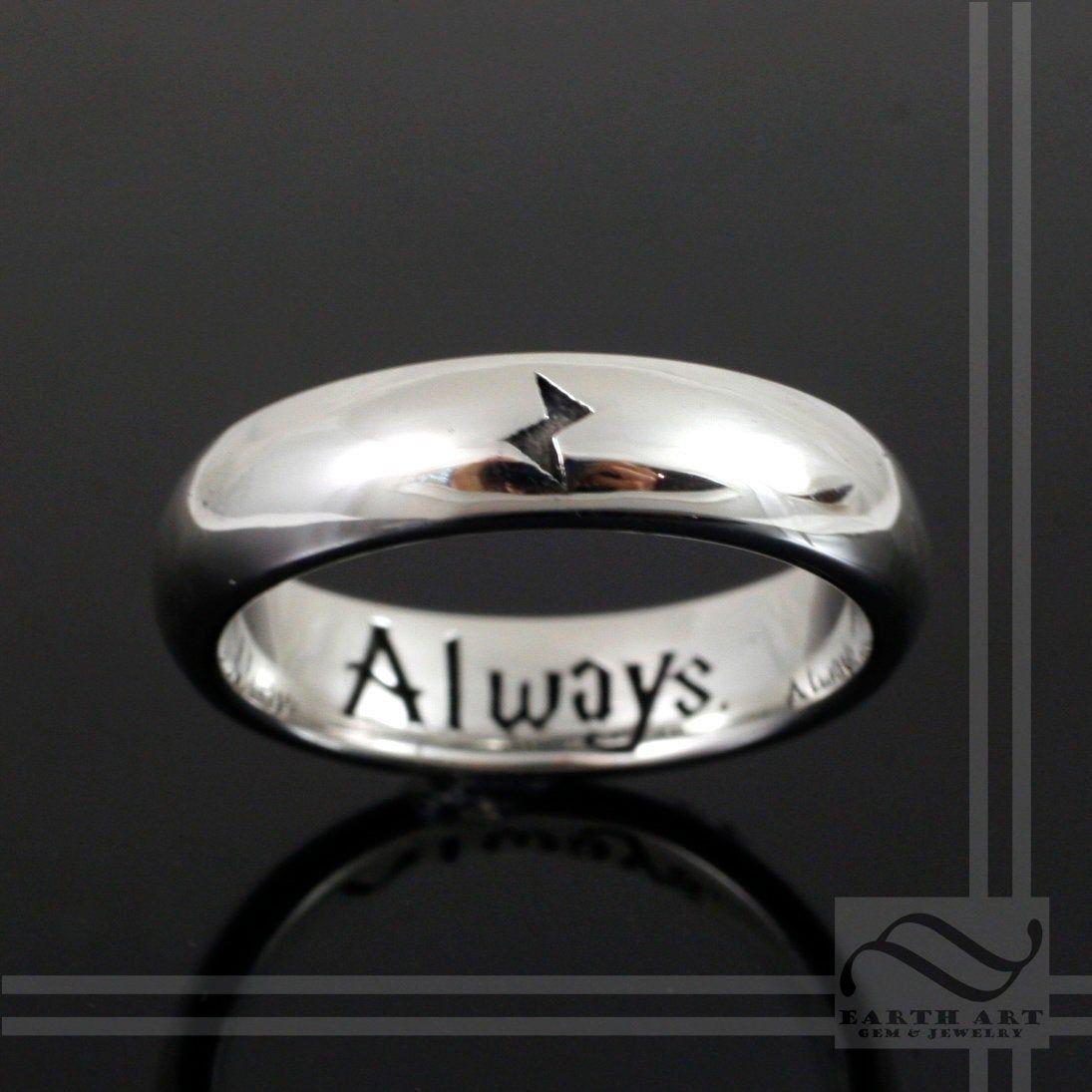harry potter wedding rings