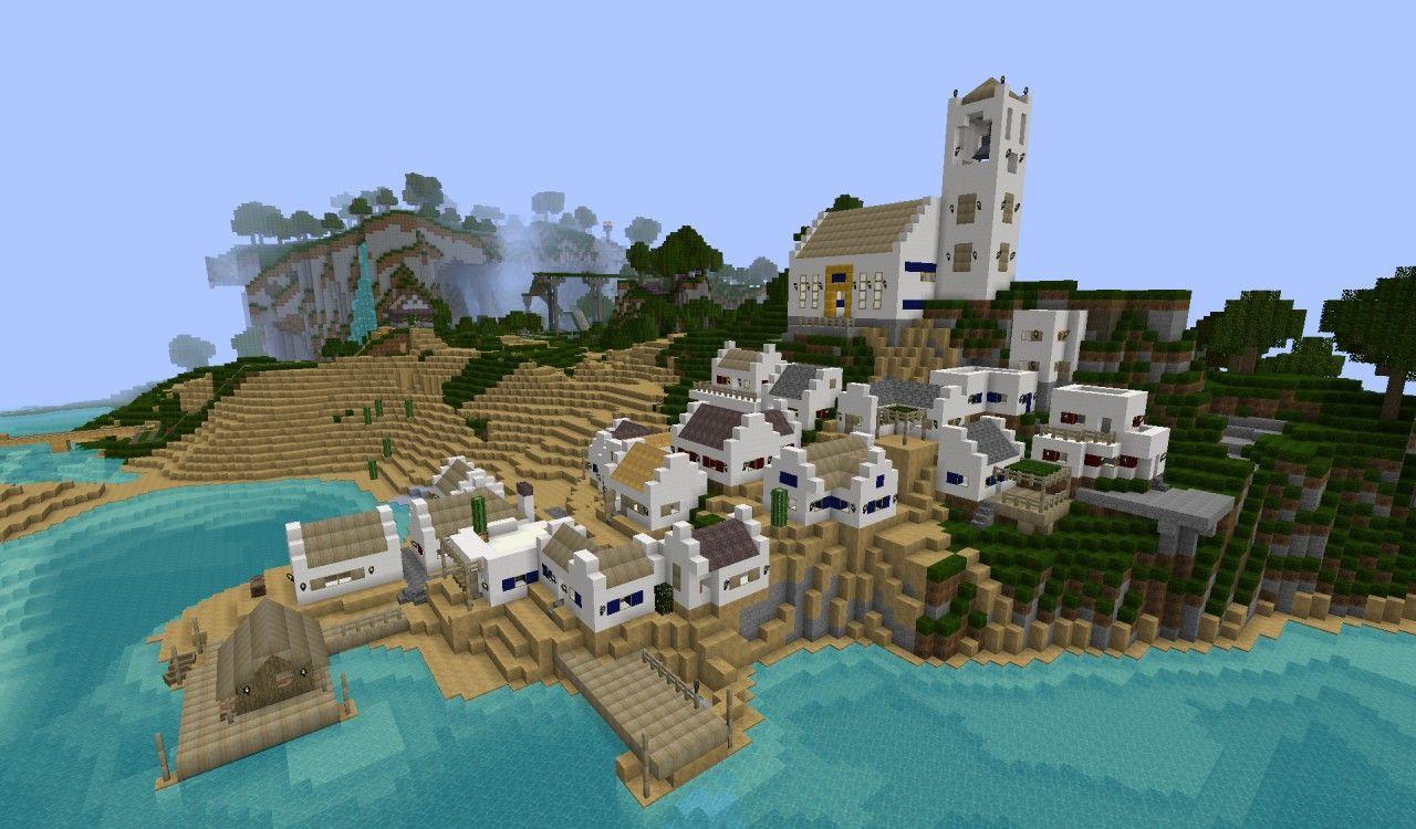 minecraft fishing village