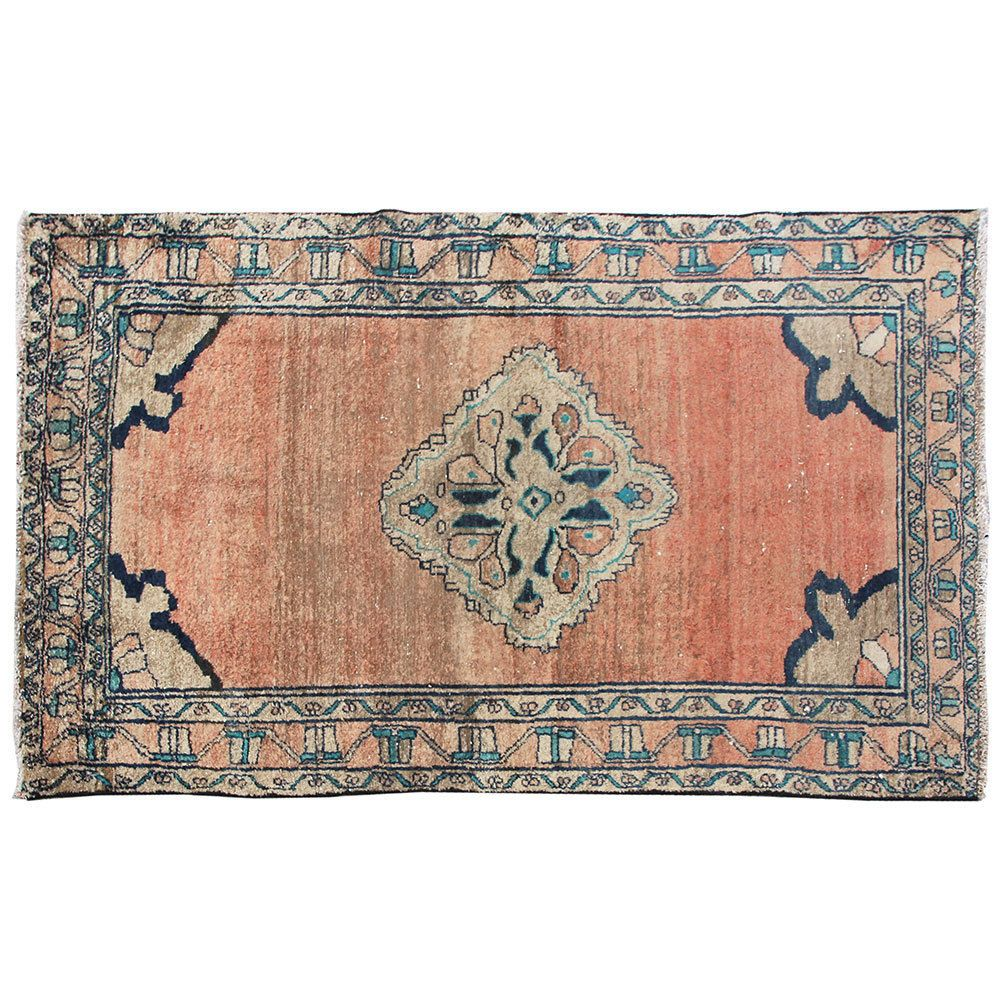 5 X 3 Antique Hand Knotted Wool
