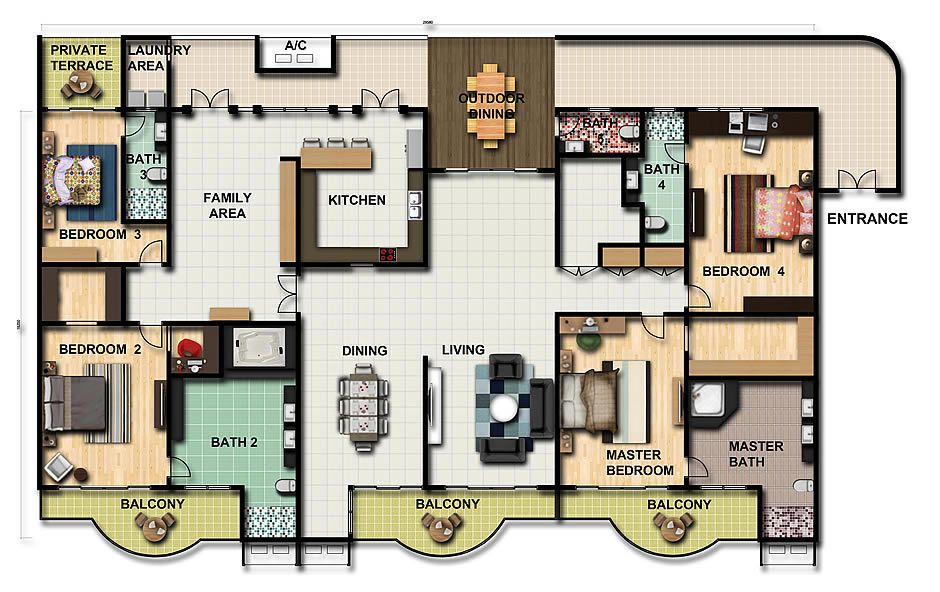 Apartment Floor Plan Buscar Con Google Home Office