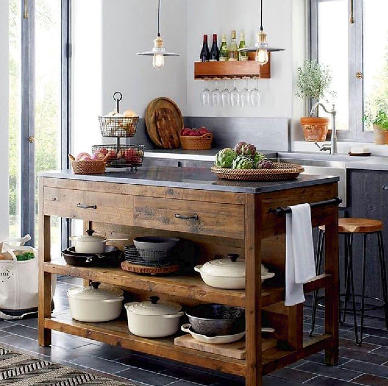 Narrow Country Kitchen: Decoracion De Cocinas