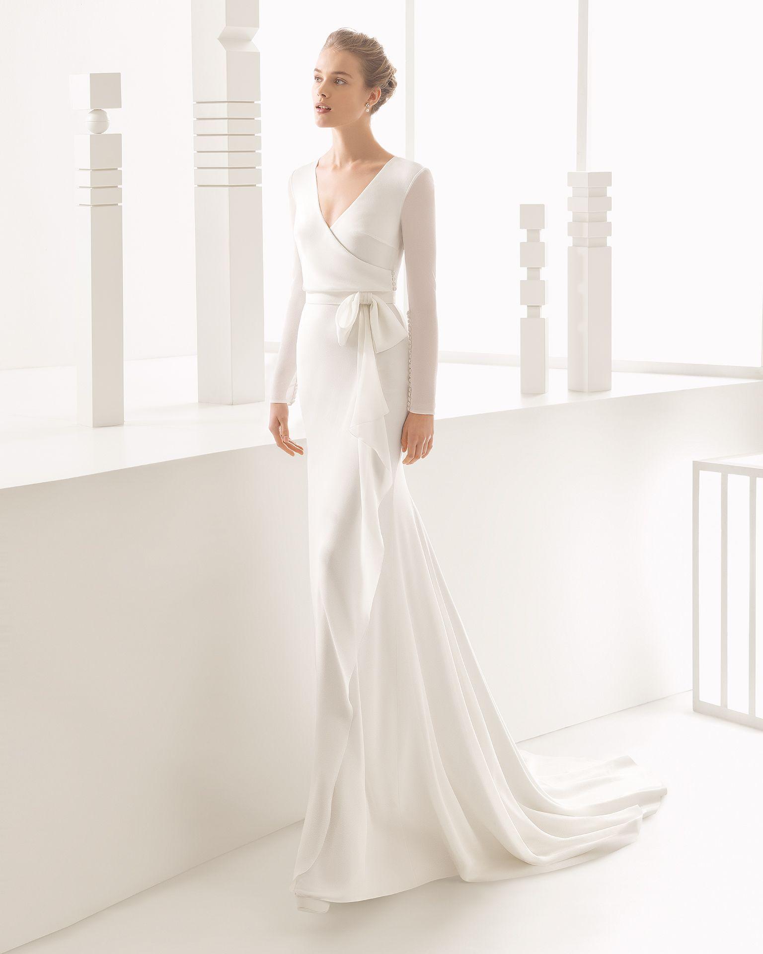 Natura - Hochzeit 2017. Rosa Clará Kollektion | Hochzeitskleider ...