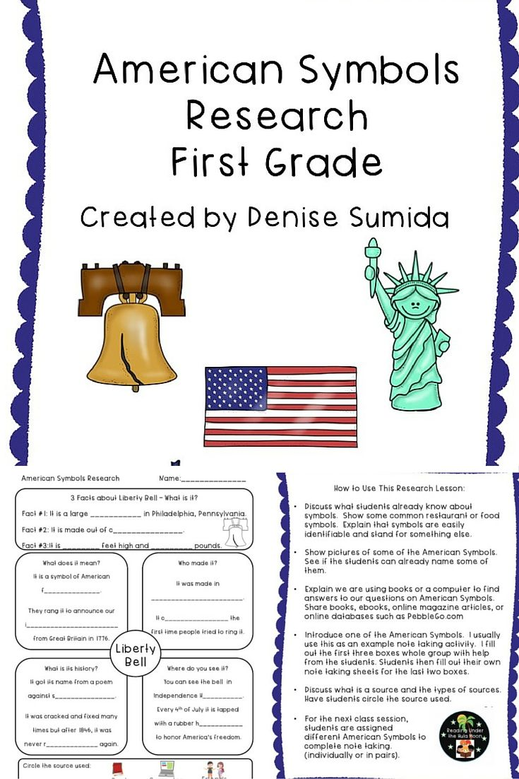 American symbols research first grade american symbols students library lessons buycottarizona Gallery