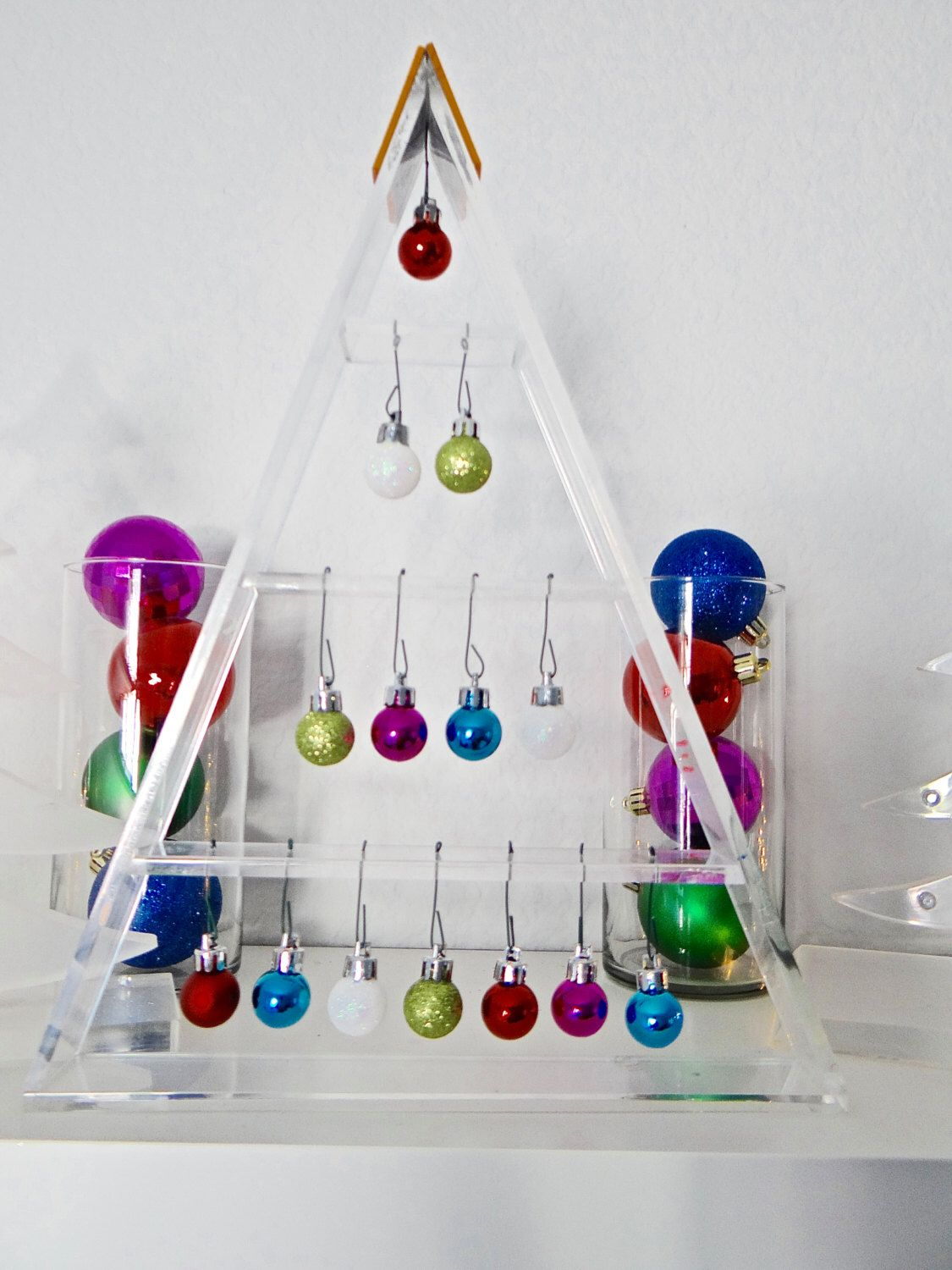 Lucite/Acrylic Modern Clear Christmas Tree/Holiday Decor ...