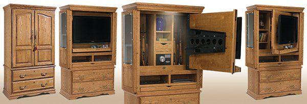 household hidden weapon storage 32 photos cofre armas tv rh pinterest com