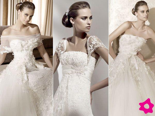 las novias con espalda ancha deberán de elegir un vestido de novia
