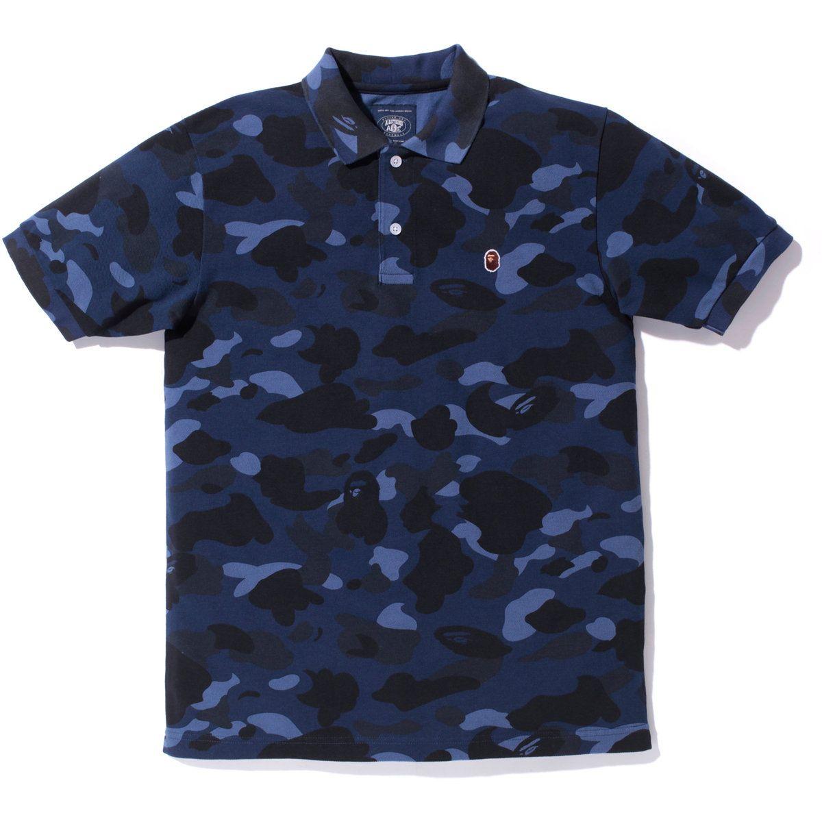 d3b7cb7b Bape, Camo Polo | Clothes and Kicks | Bape, Mens fashion, Camo shirts