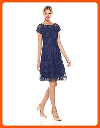 45206d5faa7 Adrianna Papell Women s a-Line Lace Dress