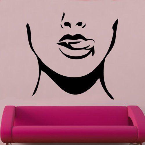 Photo of East Urban Home Tongue & Teeth Wall Decal | Wayfair.de