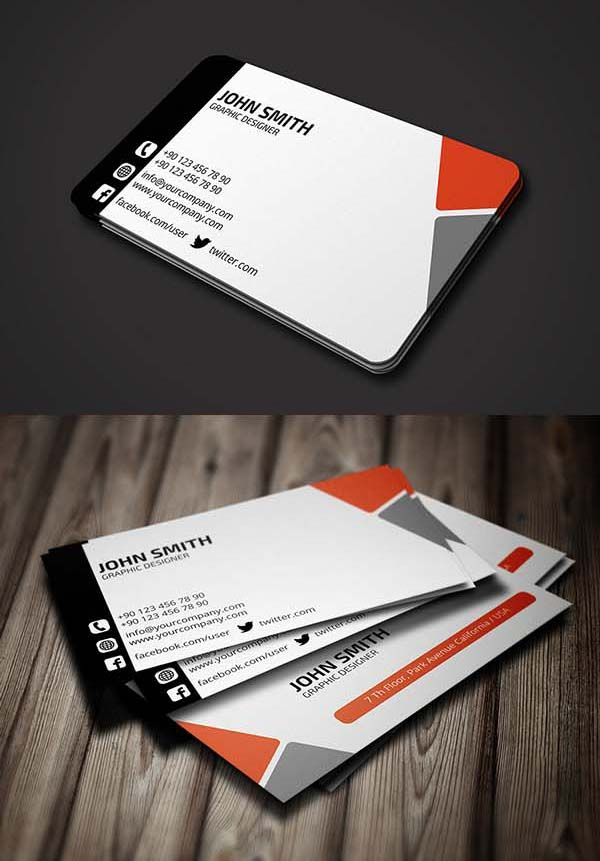36 Modern Business Cards Examples for Inspiration - 6 ...