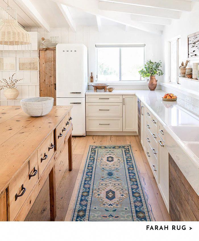 18 Beautiful Bright Kitchen Design Ideas To Serve You As: Neutral And Bright Kitchen...plus Smeg