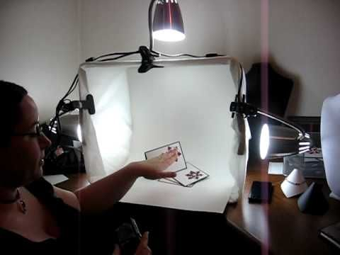 How to make a low budget light box DIY Photography projects