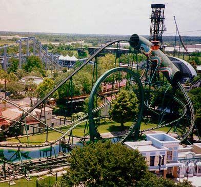 Nostalgic Xtreme Theme Parks Rides Historic Houston Amusement Park Rides