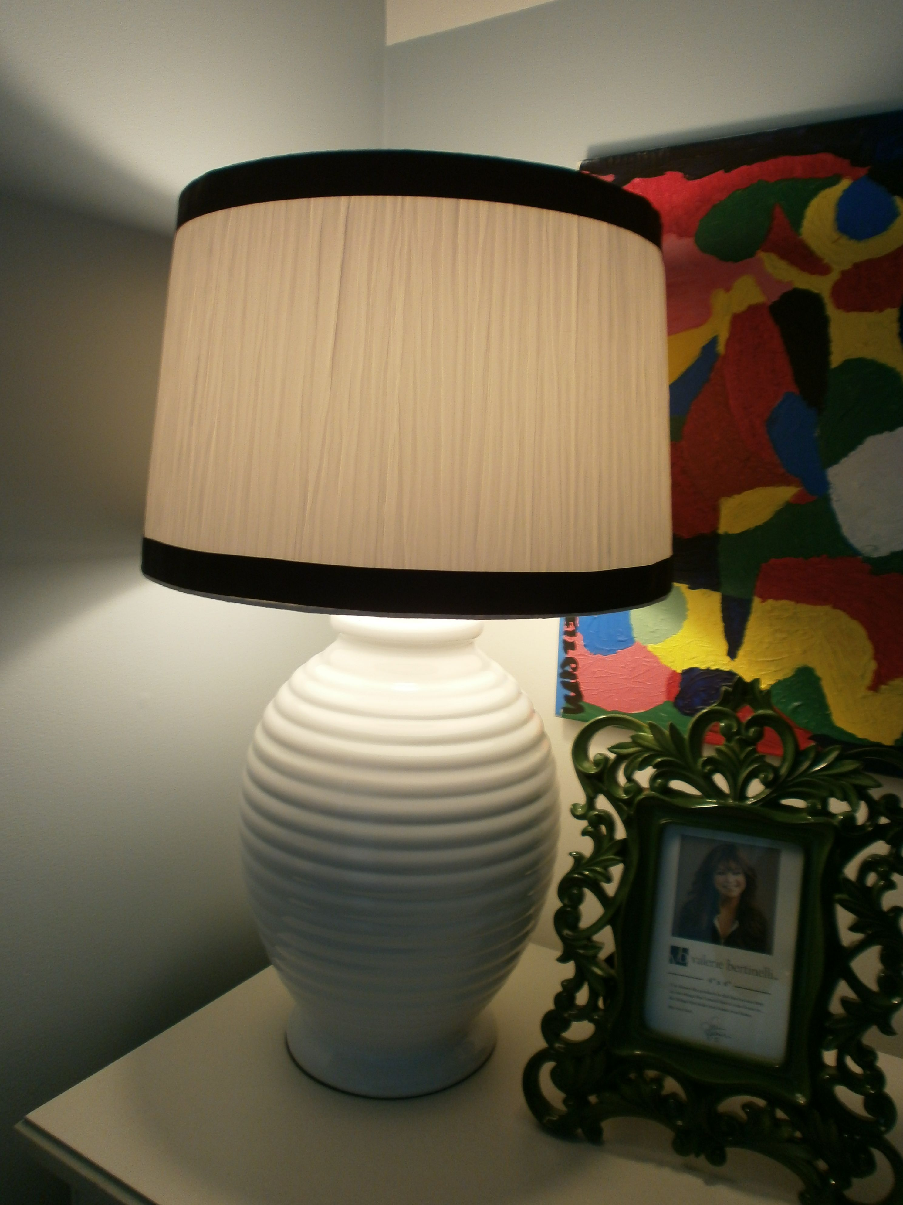 Adding trim to lamp shades diy trim to shades diy projects by adding trim to lamp shades diy trim to shades diy projects by amber b interiors lamps aloadofball Gallery