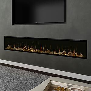 Modern Flames 120 In Built In Electric Fireplace Lfv120 15 Sh