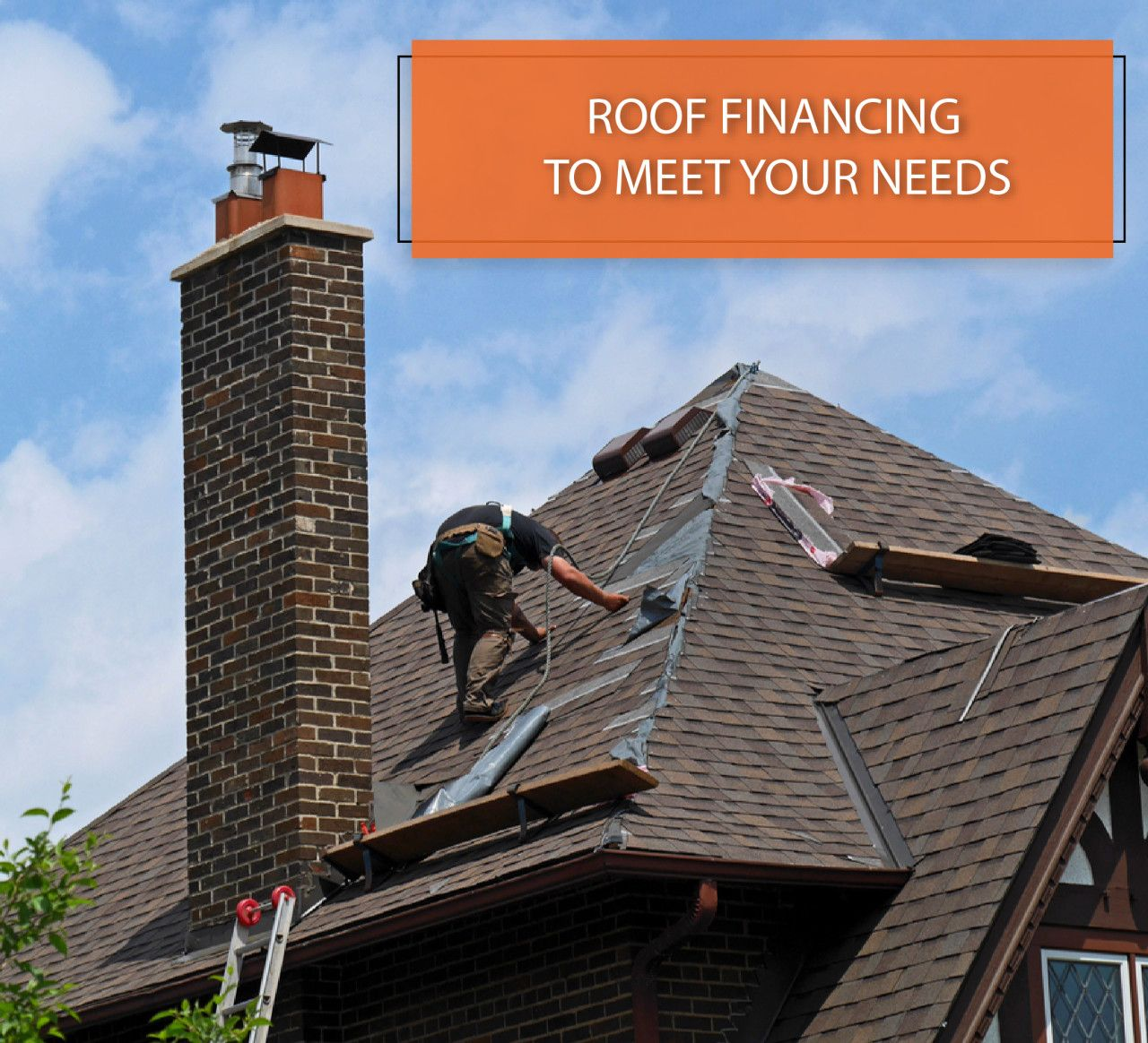 Did You Know We Offer Financing Options For Your Roof Replacement Get A Free Estimate On A New Roof Today Financingoptio Roofing Contractors Roofing Roof