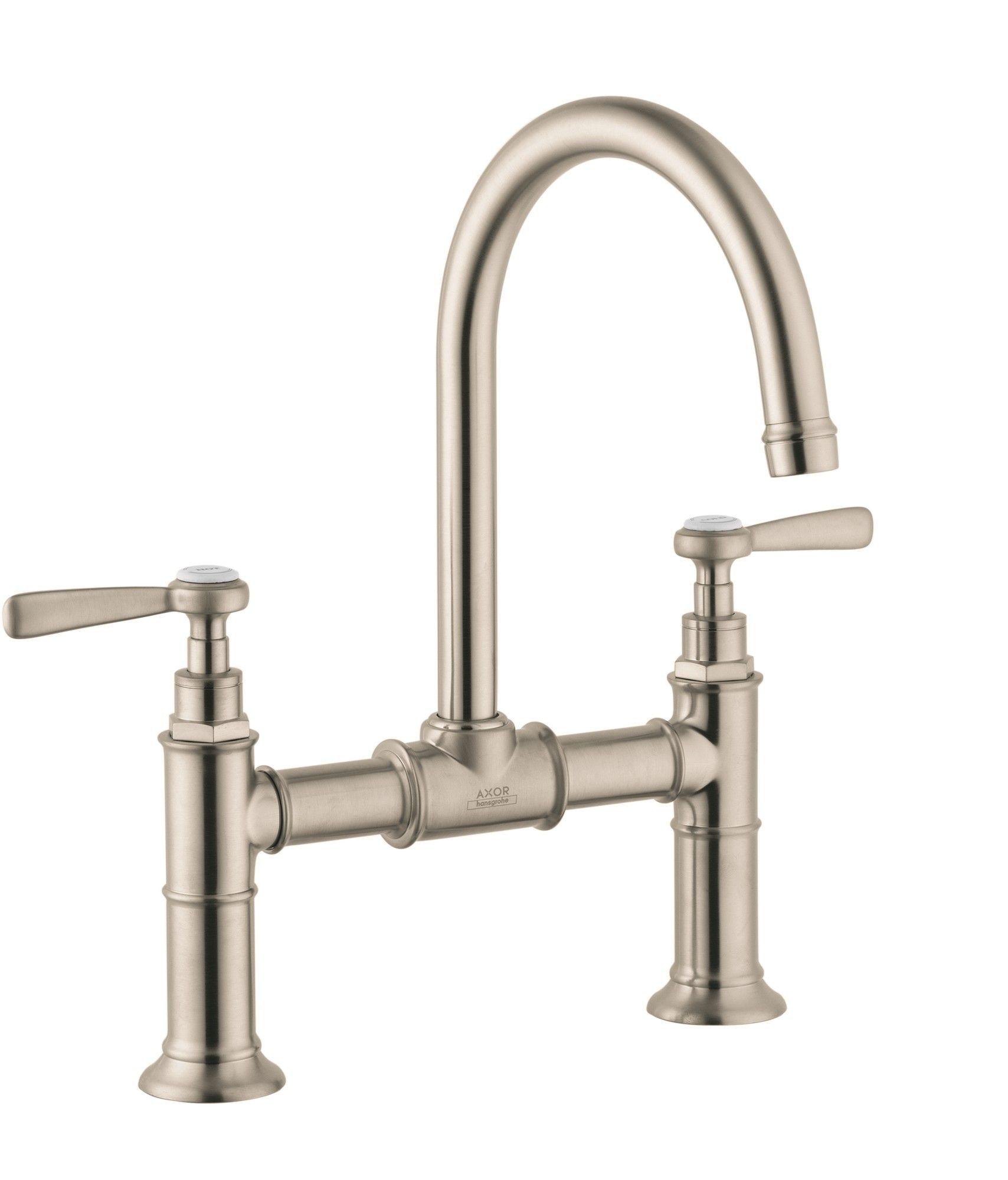 Axor montreux double handle widespread bathroom faucet bathroom