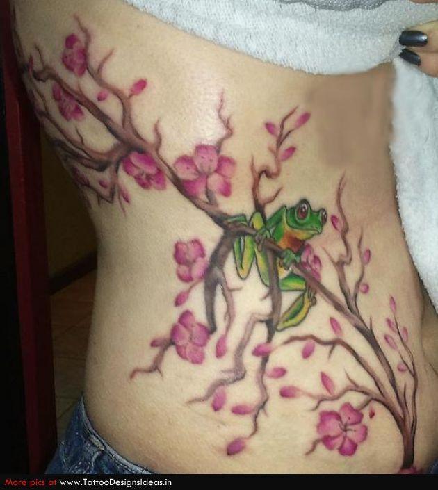Cherry Blossom Tattoos Tatto Design Of Cherry Blossom Tattoos