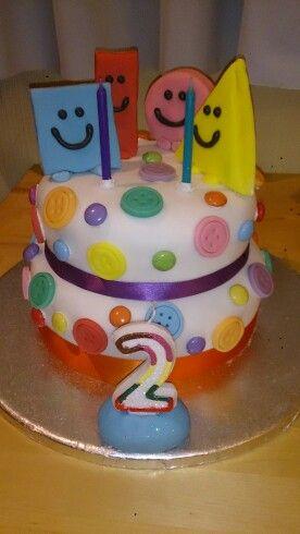 Mr Maker Shapes Birthday Cake